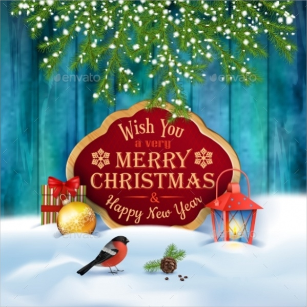 Fully Customized Merry Christmas Greeting