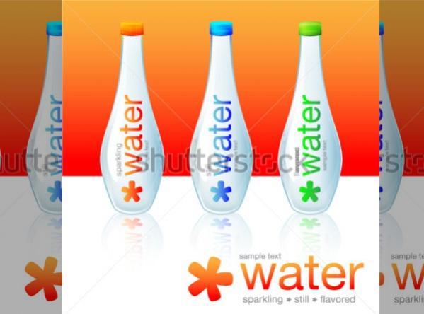 Funky Water Bottle Package