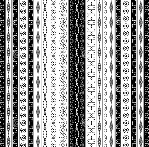 Geometric Border Pattern