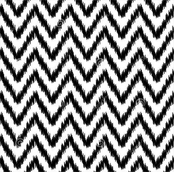 Geometric Chevron Pattern Design