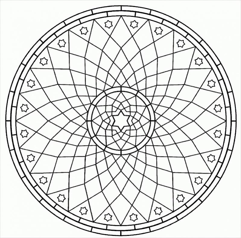 22 mandala coloring pages jpg ai illustrator download for Geometric mandala coloring pages