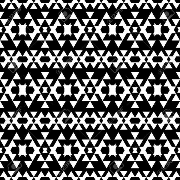 Geometrical Tribal Pattern Design