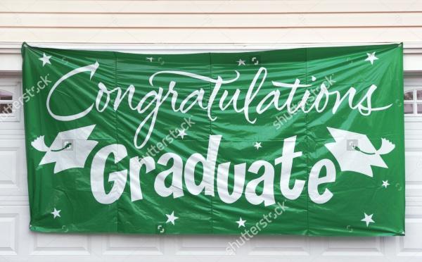 Graduation Hanging Banner