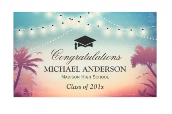 Graduation Party String Banner