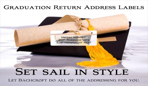 Graduation Return Address Labels