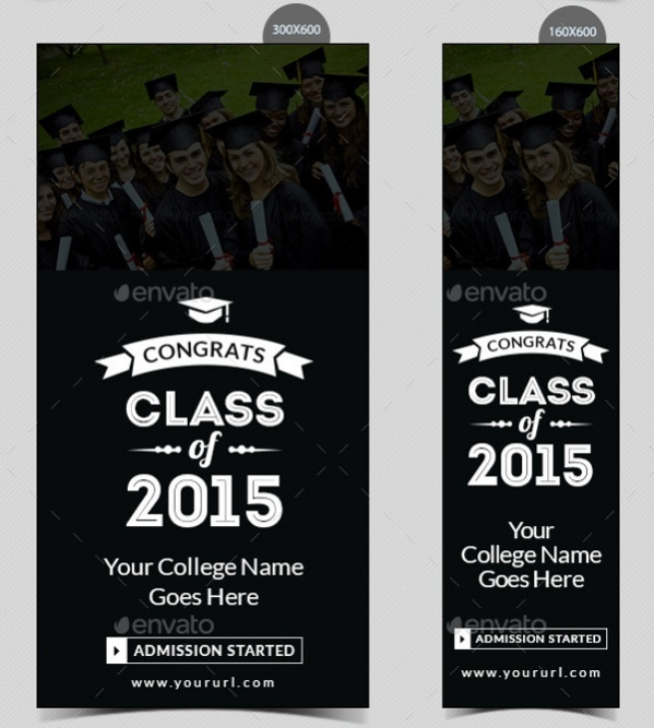 Graduation Roll Up banners