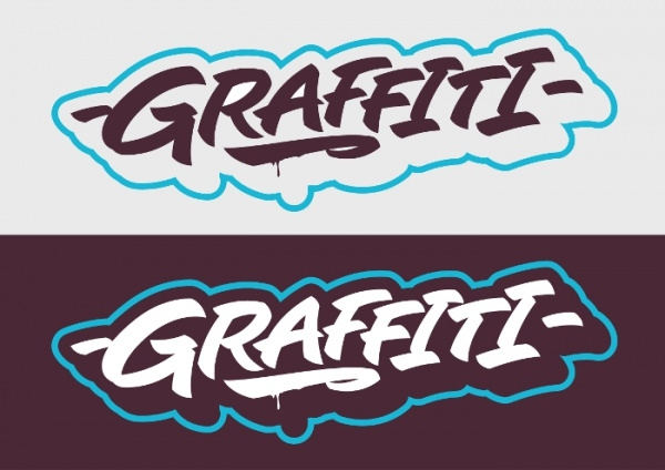 Graffiti Printable Letters