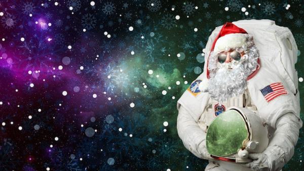 HD Christmas Santa Wallpaper