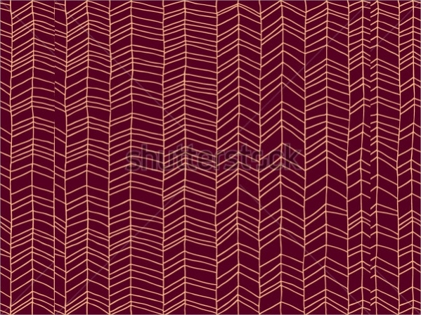 Hand Drawn Chevron Pattern