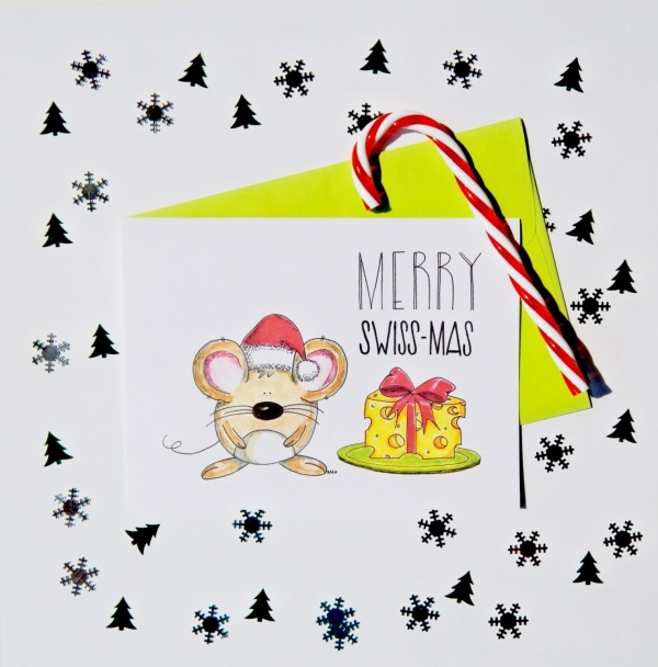 Hand Drawn Merry Christmas Card