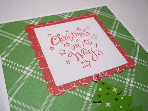 Hand Made Christmas Greeting Card