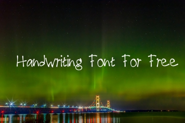 Handwriting Font For Free