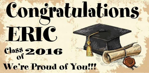 Happy Graduation Banner