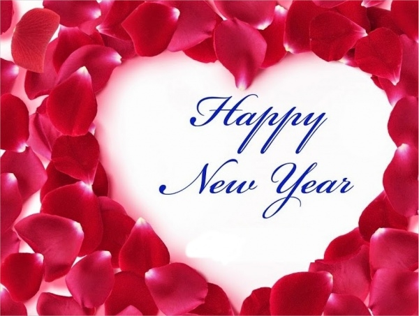 Happy New Year Image with Love