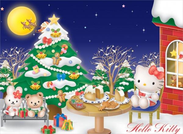 Hello Kitty Christmas Wallpaper
