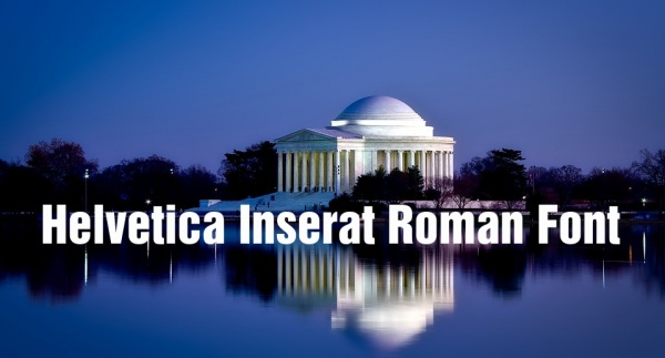 Helvetica Inserat Roman Font