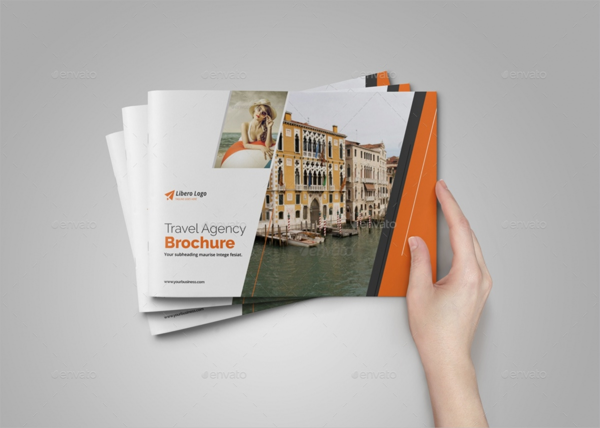 Holiday Travel Brochure Design
