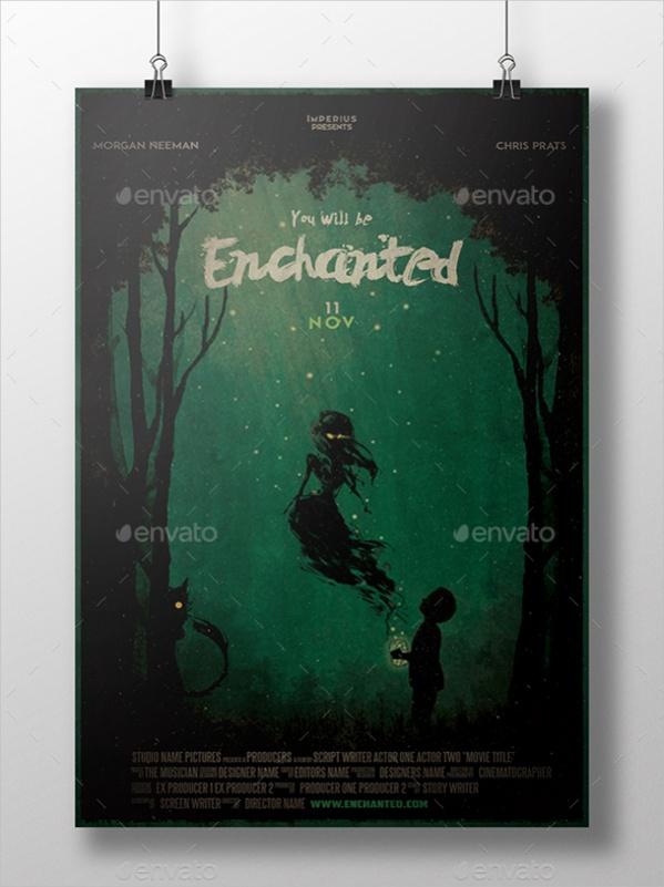 Horror Movie Poster Design