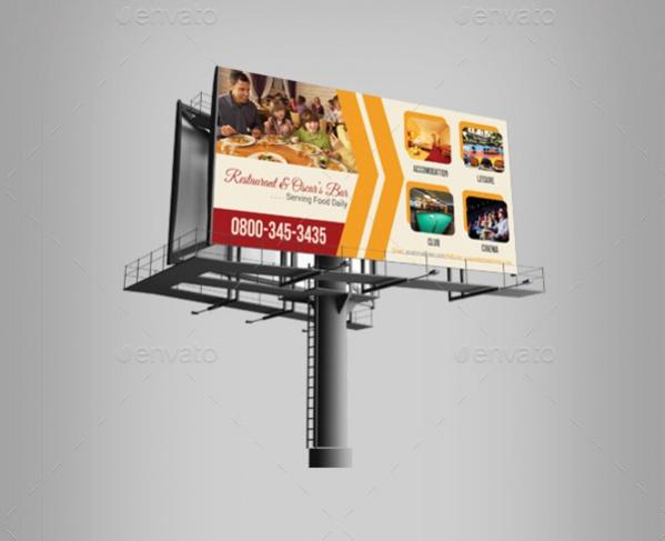 Hotel Billboard Banner Design