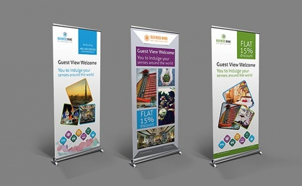 Hotel Roll Up Hotel Banner