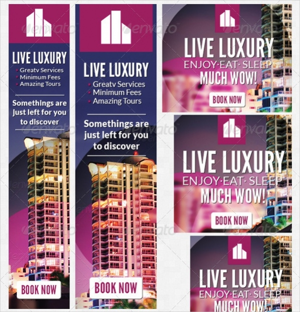 Hotel Web Banner Design