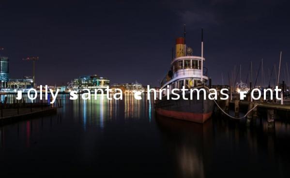 jolly-santa-christmas-font