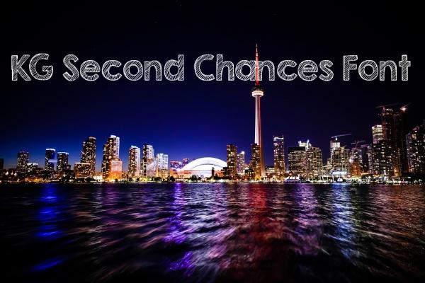 KG Second Chances Sketchy Font