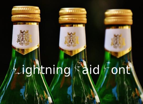 Lightning Raid Font