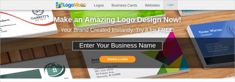 Logomix - High Technology Online Logo Maker