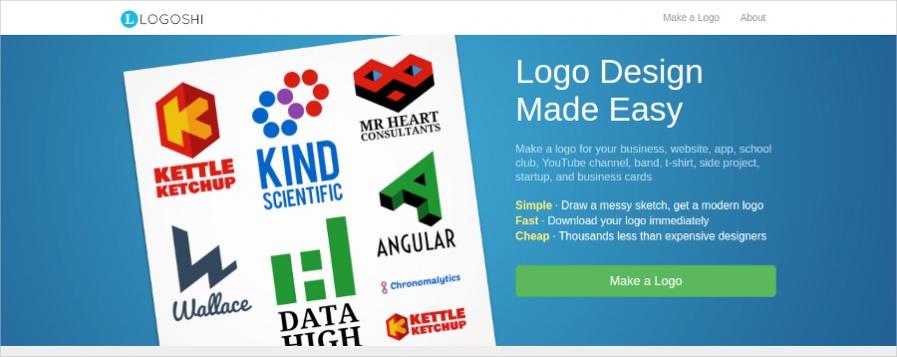 Logoshi - Colorful Online Logo Maker