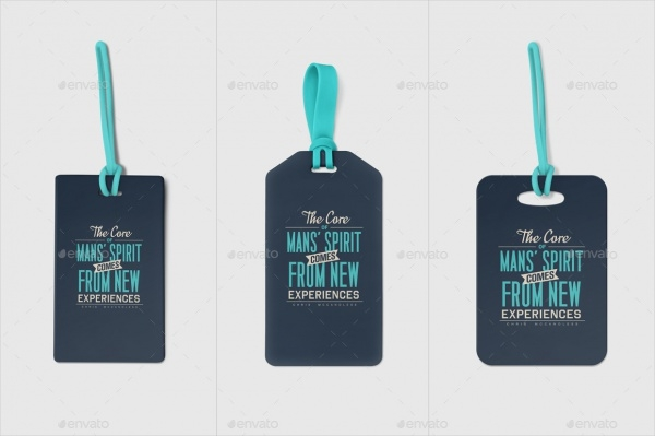 Luggage Diaper Tag Design