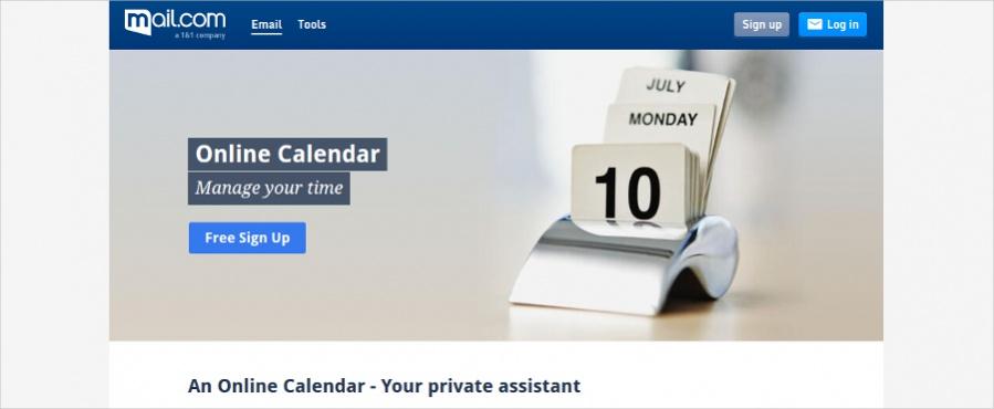 Mail - Simple Online Calendar App