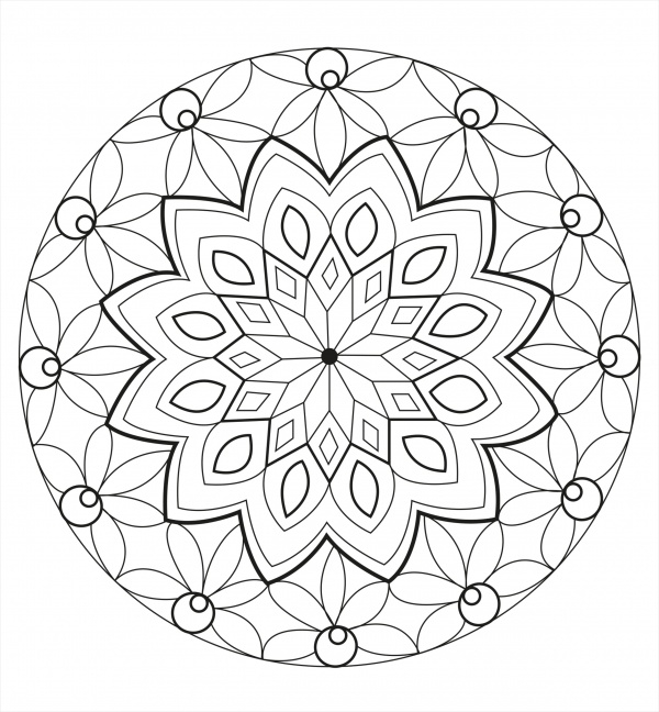 mandala coloring pages for adults1