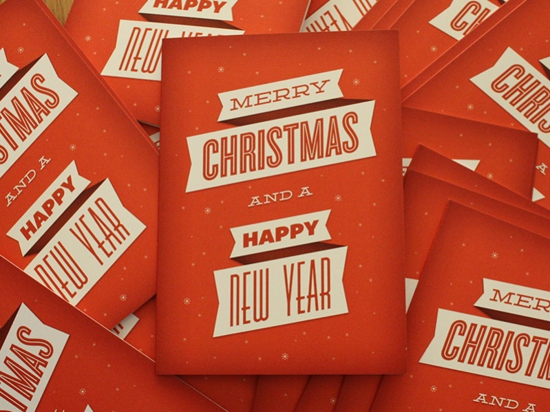 Merry Christmas Card PSD