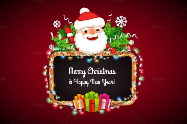 Merry Christmas Cartoon Image