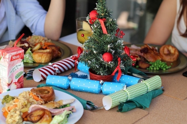Merry Christmas Dining Image