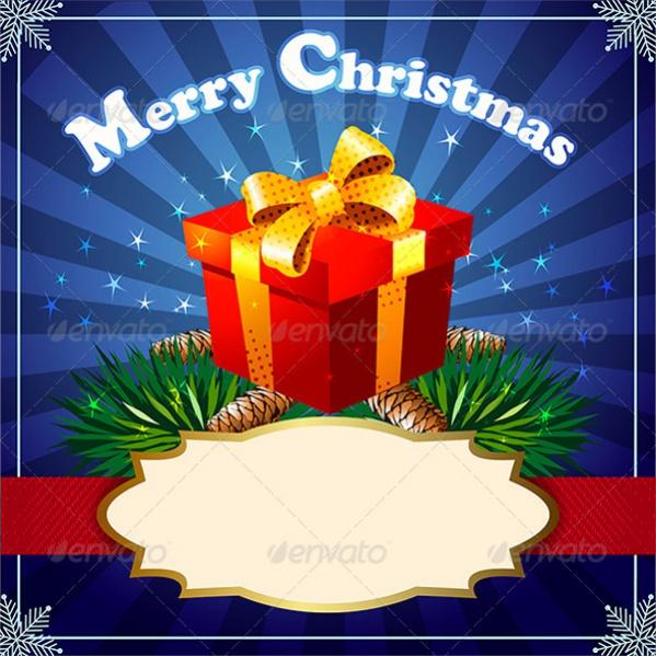 Merry Christmas Gift Image