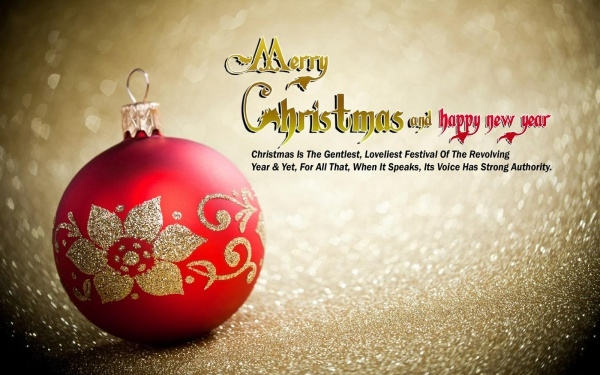 Merry Christmas Image with Quotes