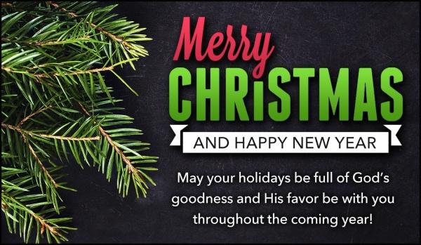 Merry Christmas & New Year Greetings