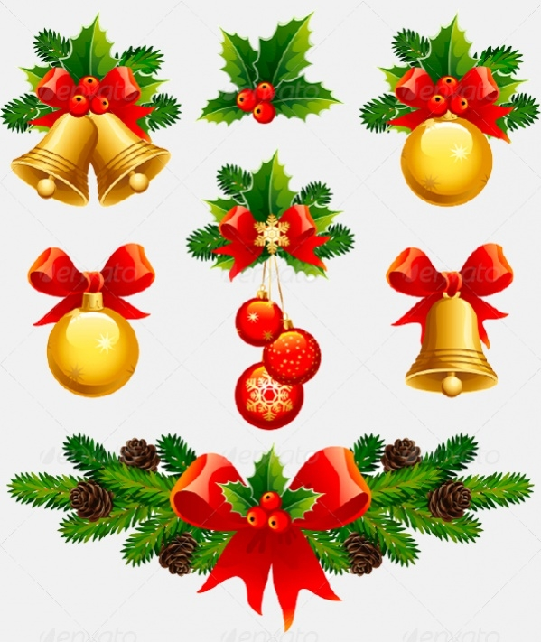 Merry Christmas Ornament Image