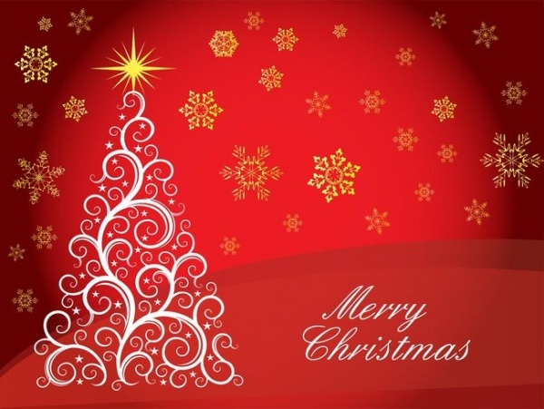 Merry Christmas Vector Greetings