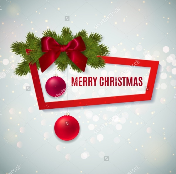 Merry Christmas banner Greetings