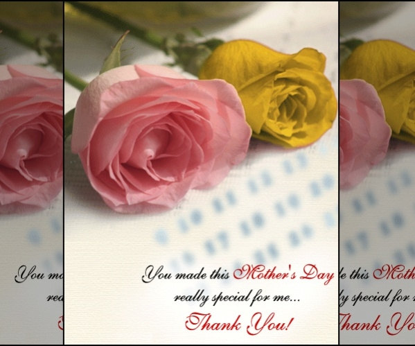 Mothers Day Thank-you Card