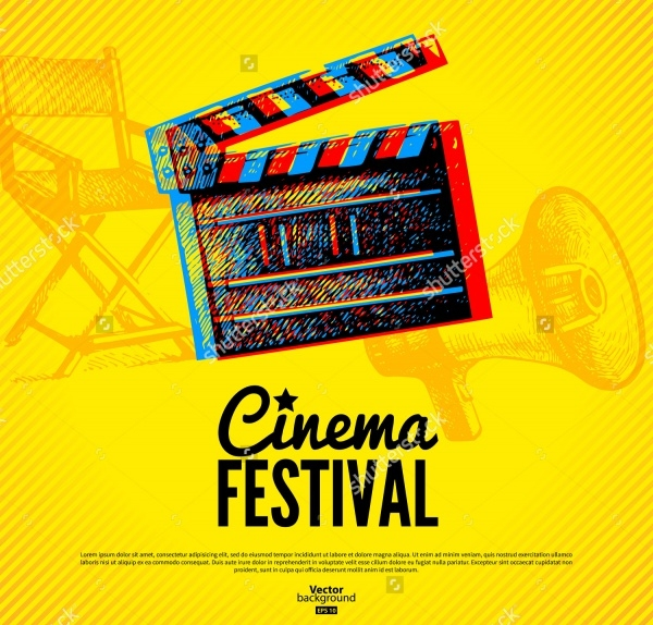Movie Festival Poster Design