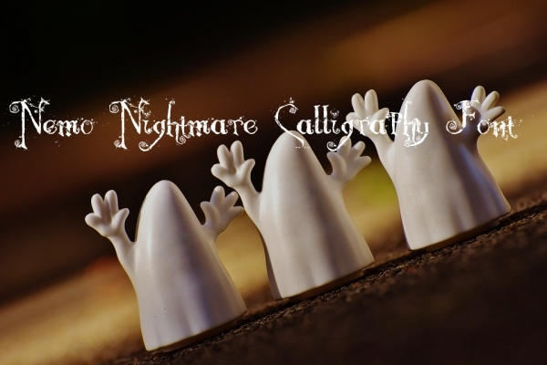 Nemo Nightmare Calligraphy Font