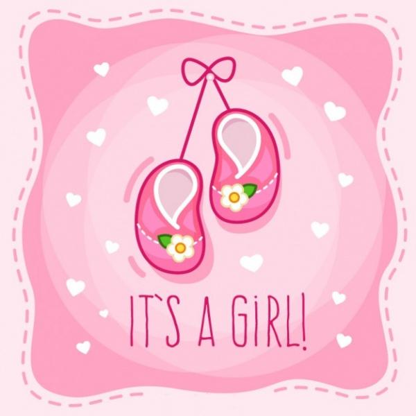 New Born Baby Shower Invitation