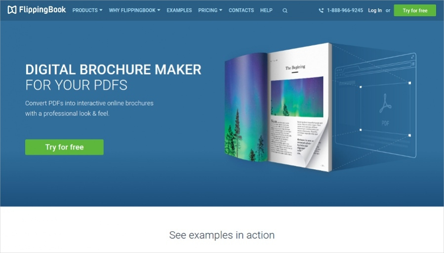 22 free brochure makers for designers for Brochure maker online