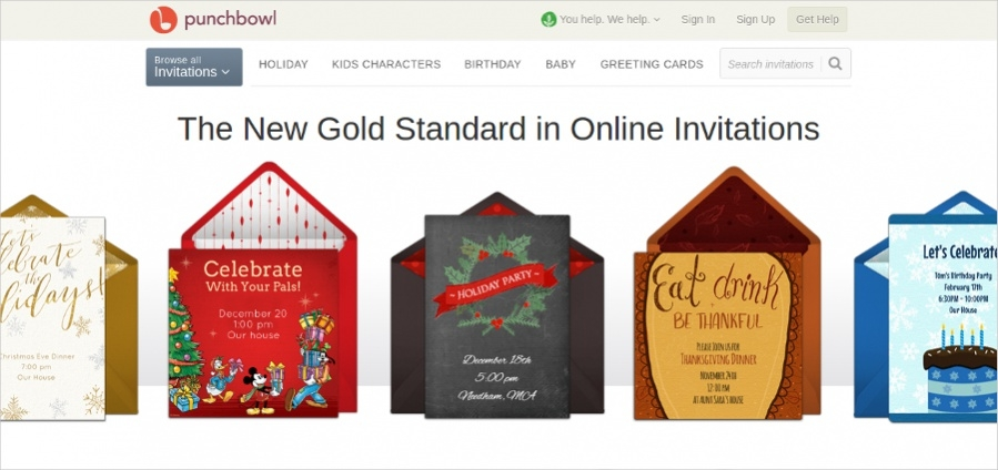 Online Invitation Designs