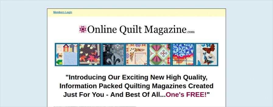 Online Magazine Example