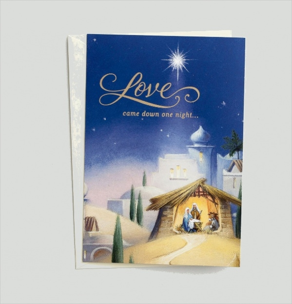 Personalized Boxed Christmas Card
